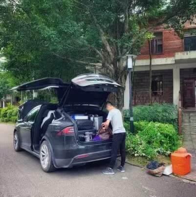 我的Model X之旅,我的Model X生活
