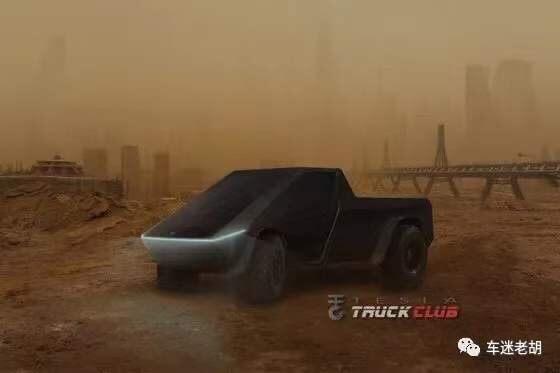 特斯拉的未来电动皮卡——Cybertruck