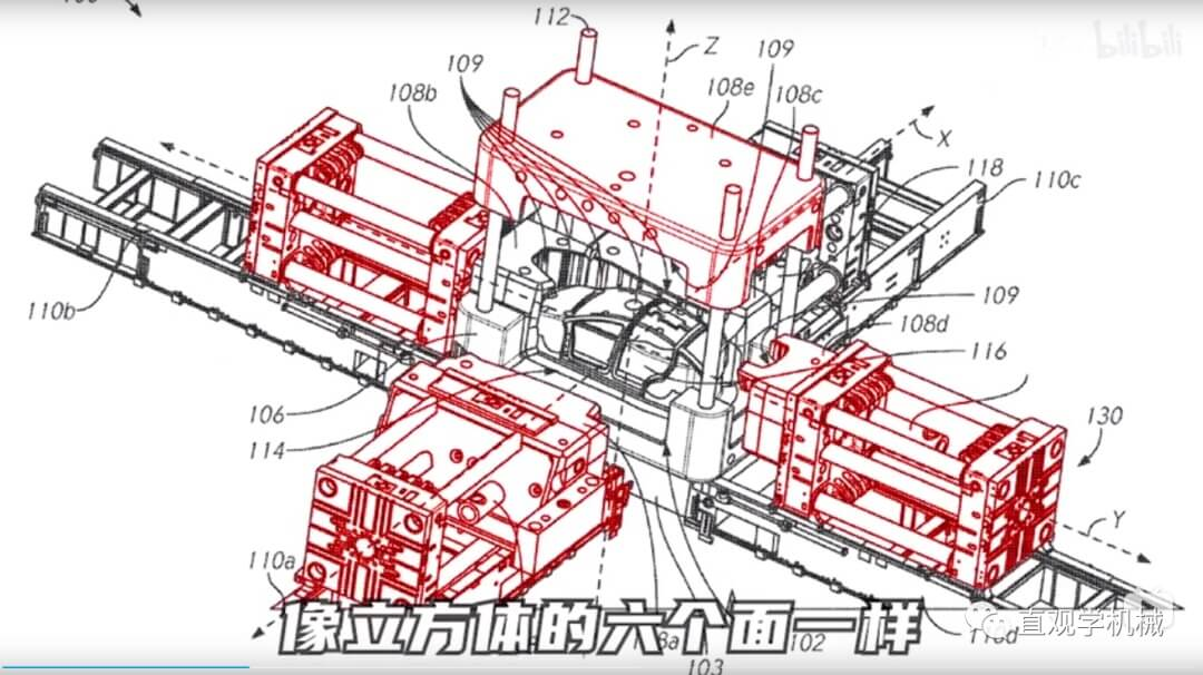 特斯拉一体式压铸机来了,从70个零件减少到1个