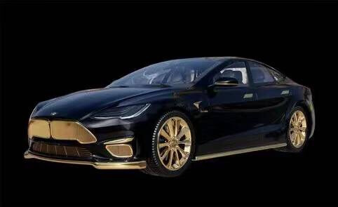 全球最贵Model S变身Model Excellence,24K金涂装全球限量99辆