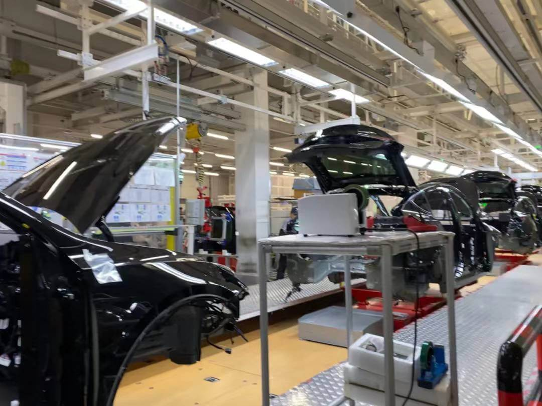 上海特斯拉超级工厂之旅 走进特斯拉中国超级工厂