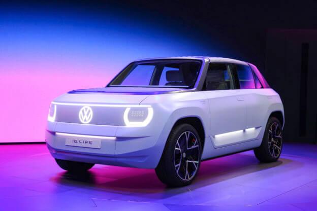 大众发布ID. LIFE电动汽车 售价不到2万欧元