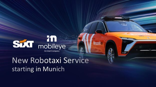 Mobileye将在德国推Robotaxi,2022年底拼无人驾驶